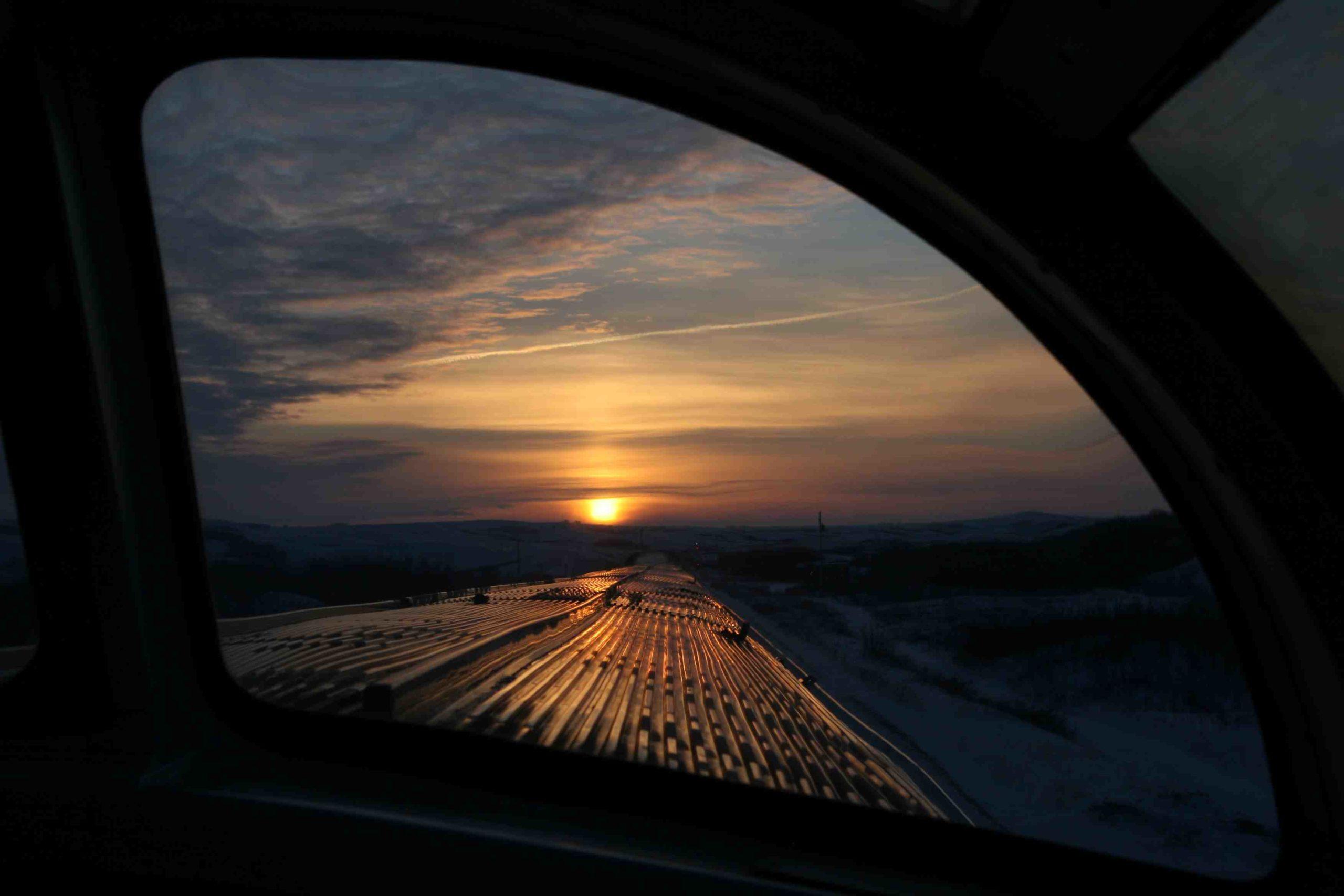 Sunrise on the Canadian - 1/11/11