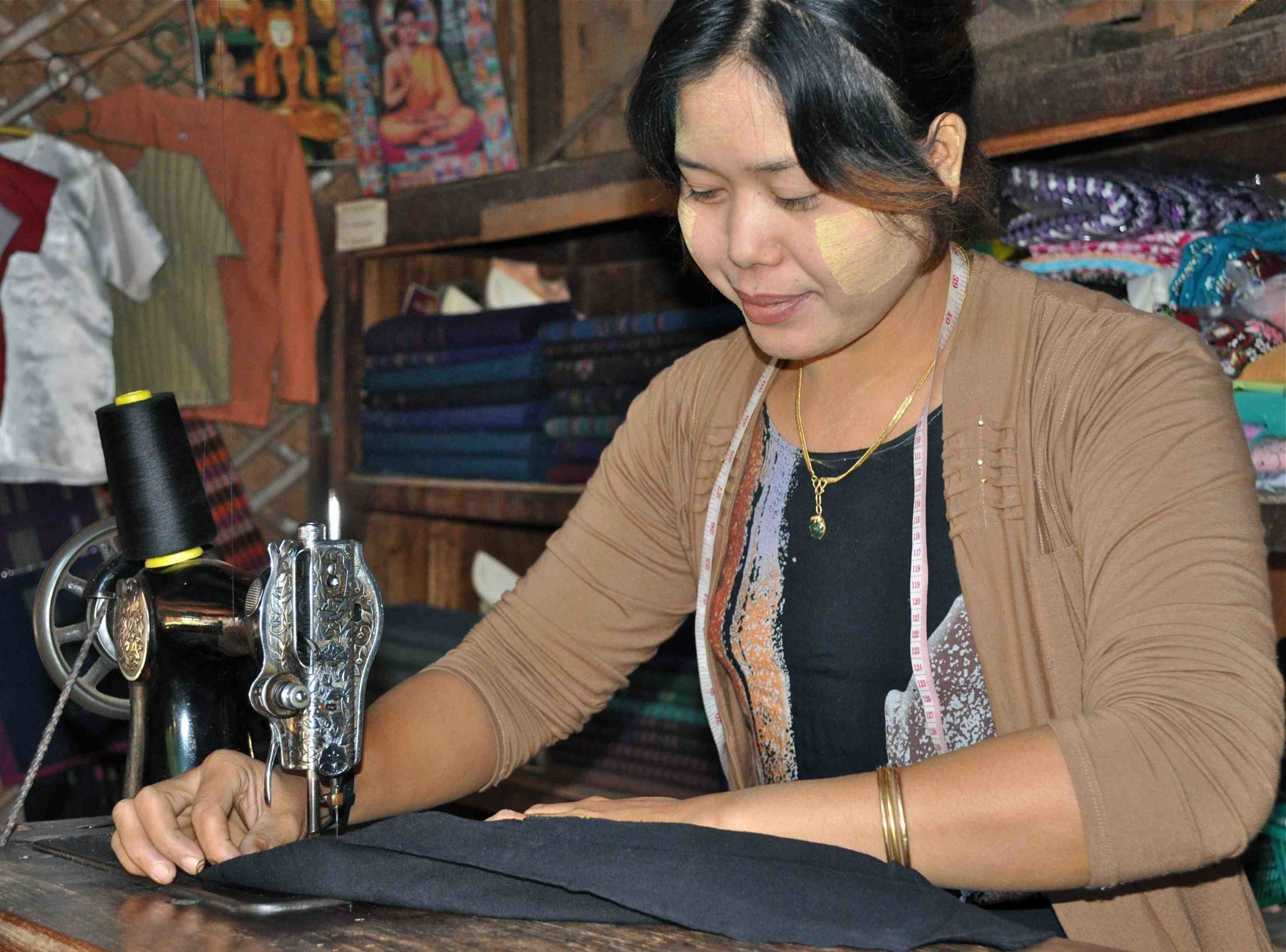 Burmese Seamstress