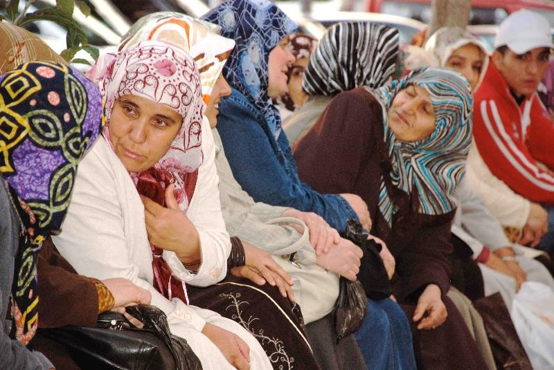 Local women in downtown Istanbul. IRT Photo by Owen Hardy