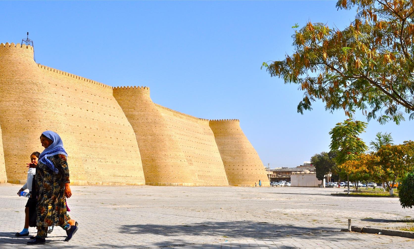 Bukhara Uzbekistan Ark
