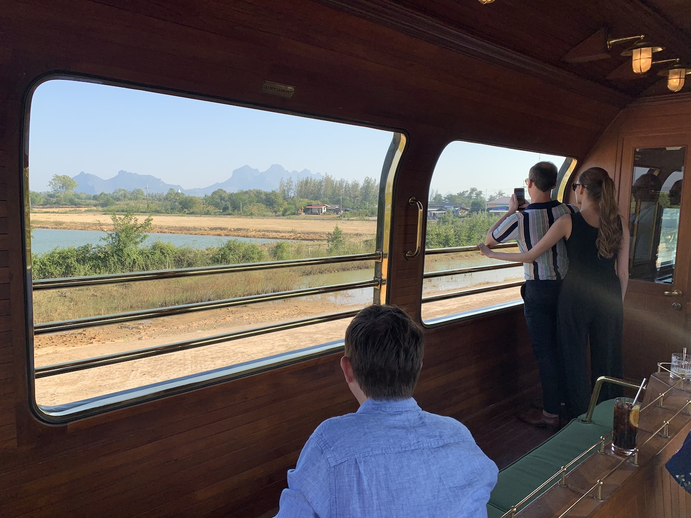 Views from Eastern & Oriental Express observation car