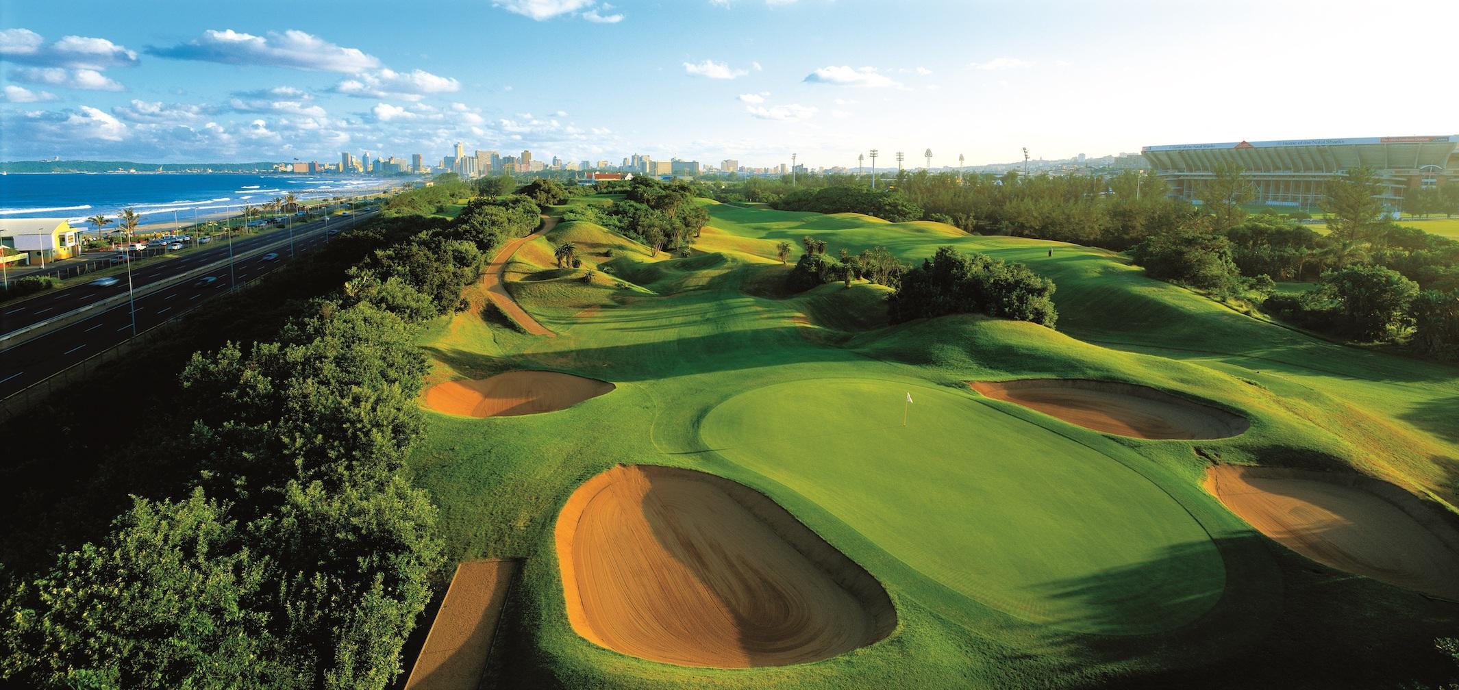 Durban Country Club Golf course Rovos Rail.