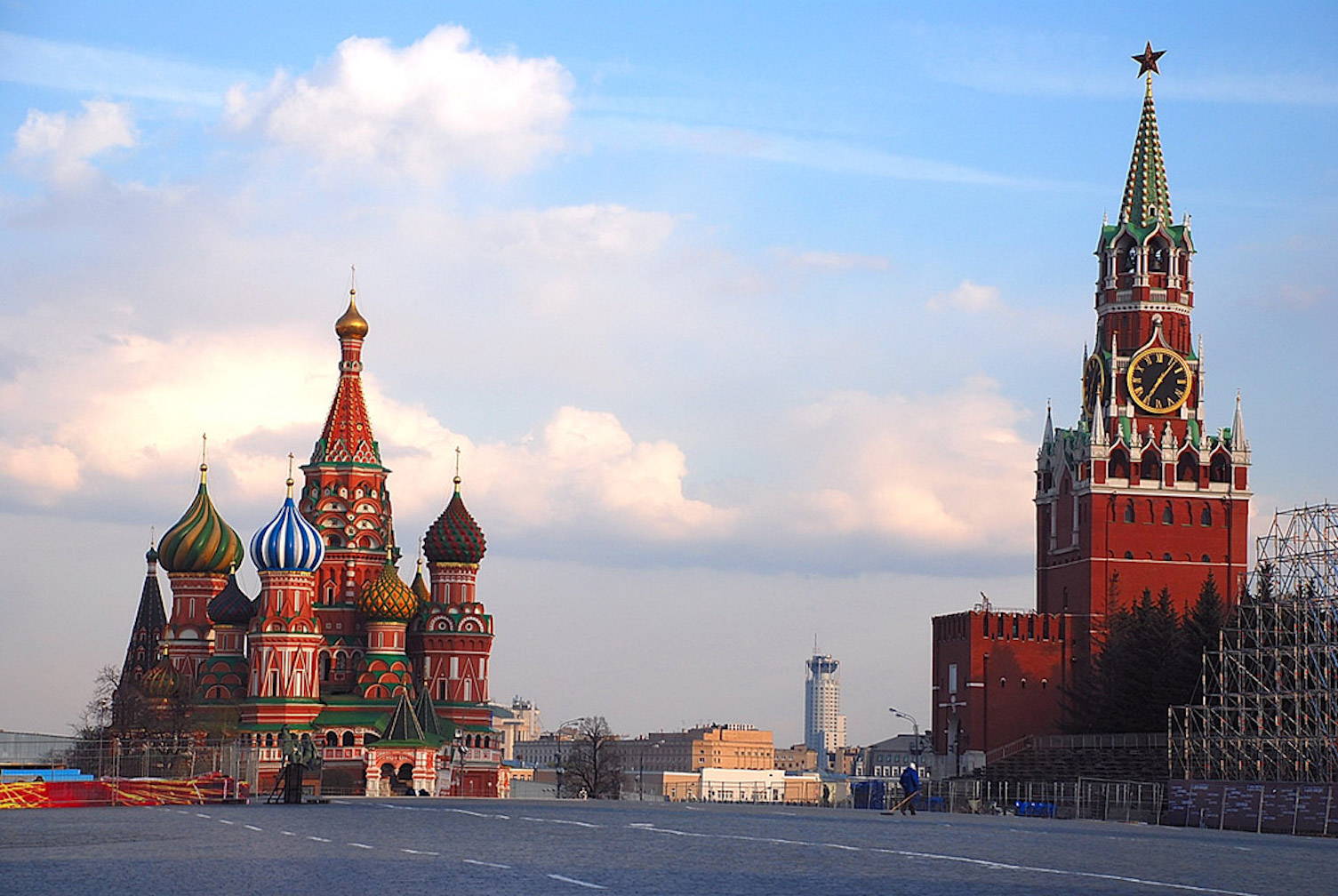 Moscow's Red Square  (Photo by Owen Hardy)