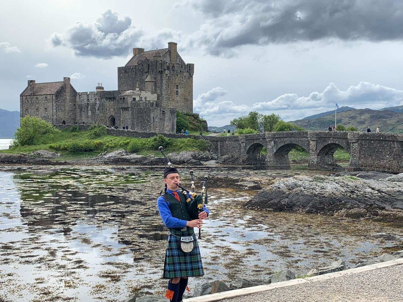 Bigpiper on the Grand Western Scenic Wonders journey