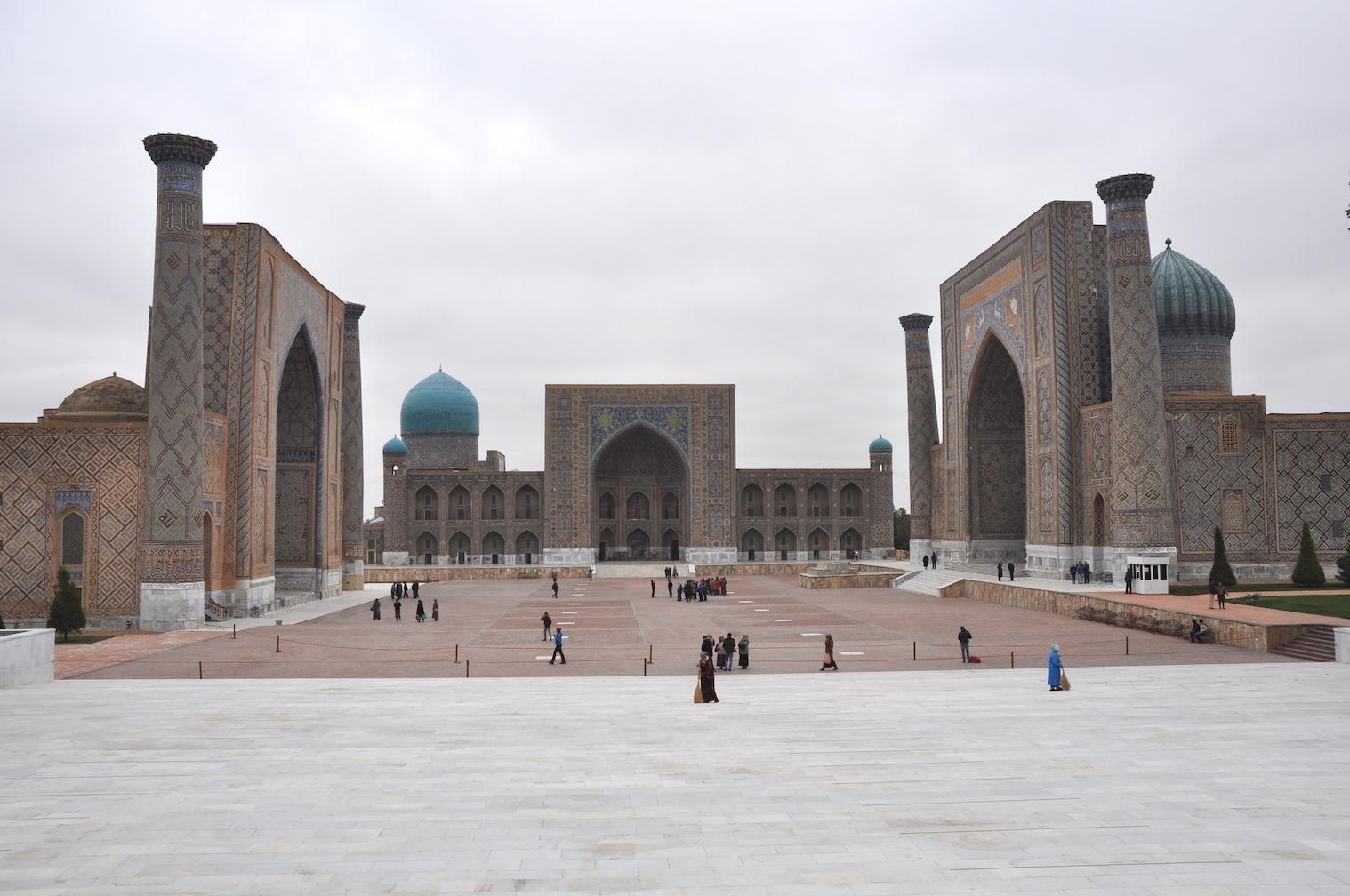 Caspian Silk Road Samarkand Uzbekistan
