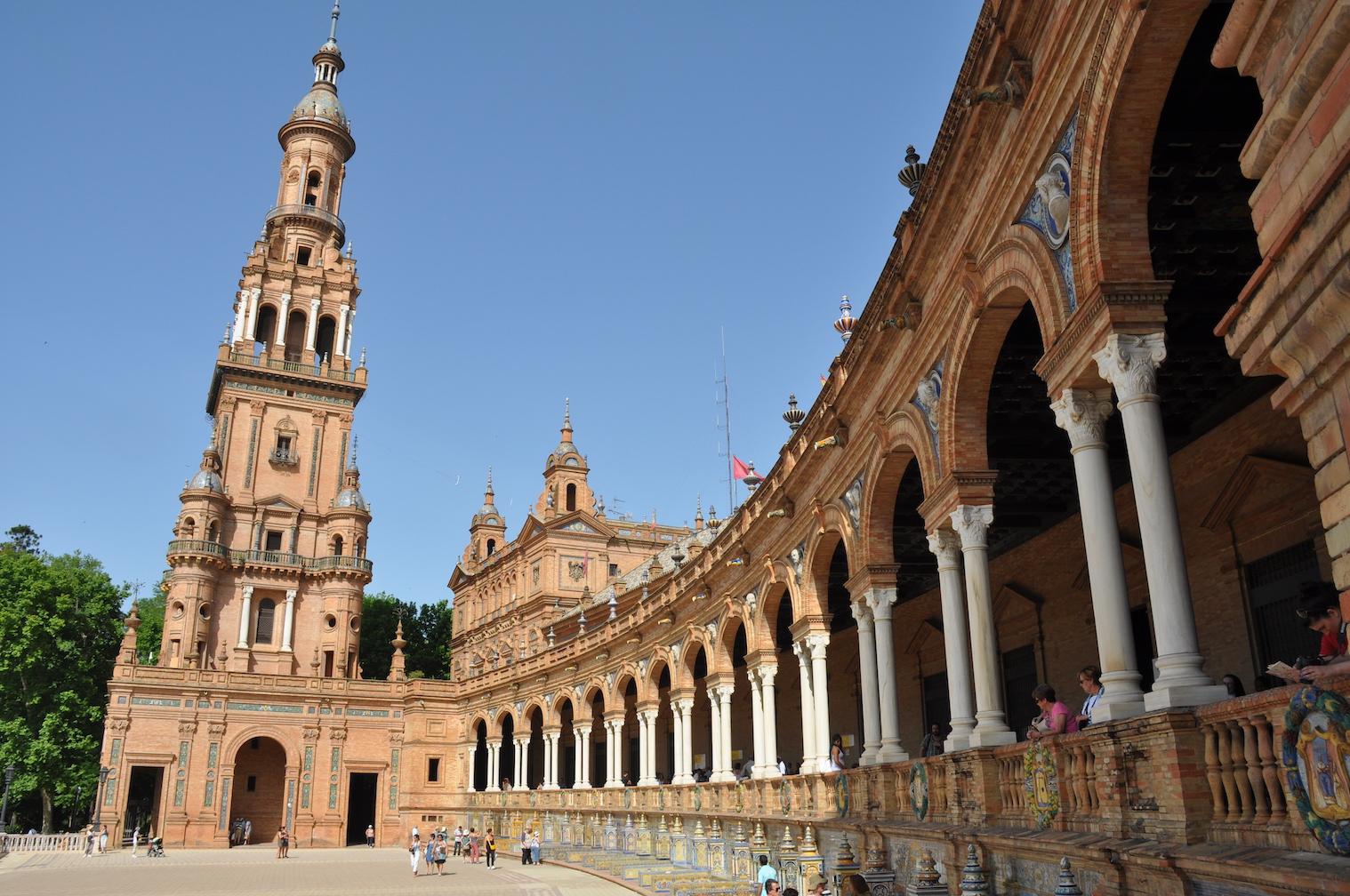 Plaza de Espana Seville Spain Al Andalus - 1