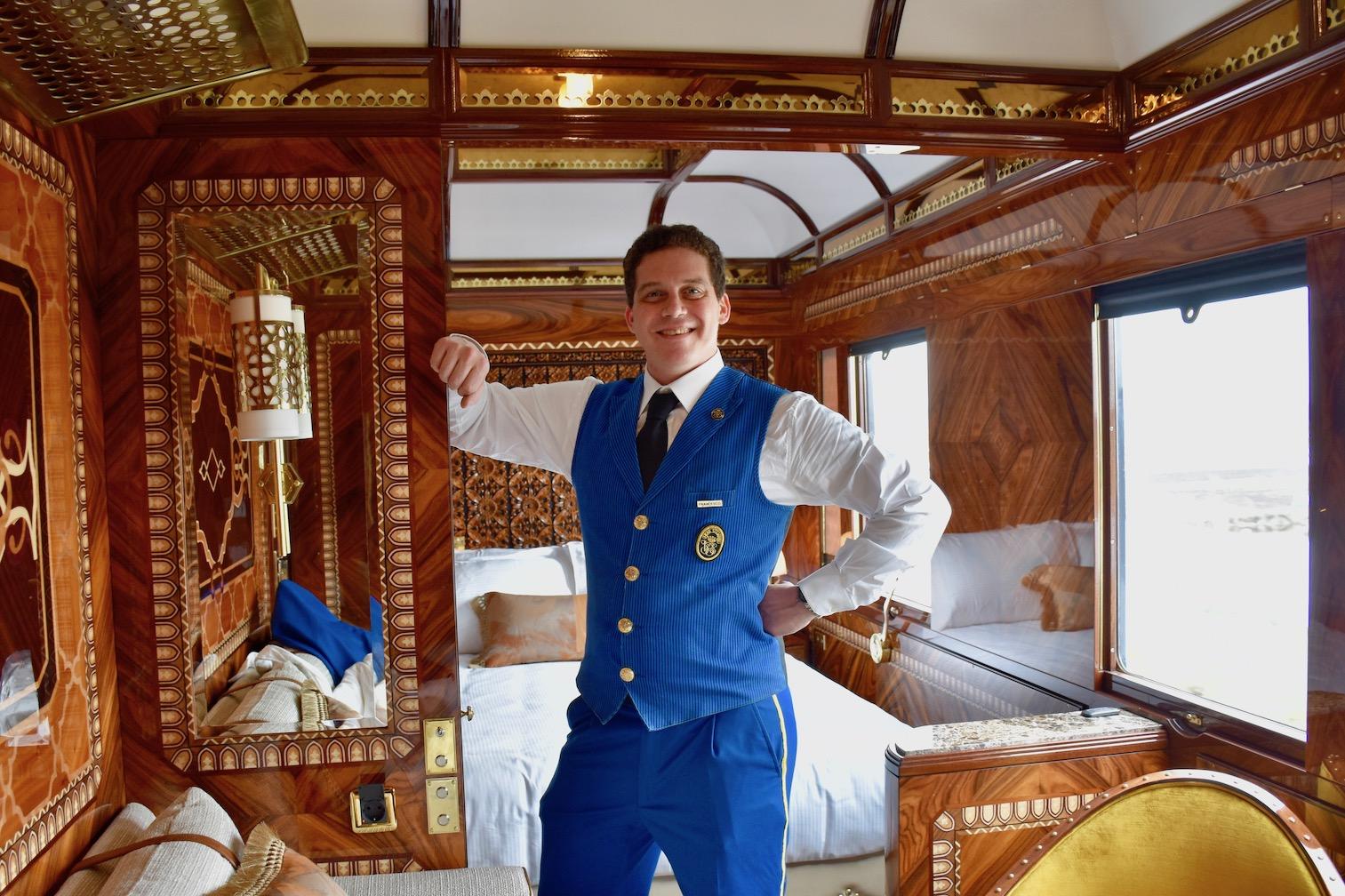 Venice Simplon-Orient-Express VSOE grand suite Istanbul steward.