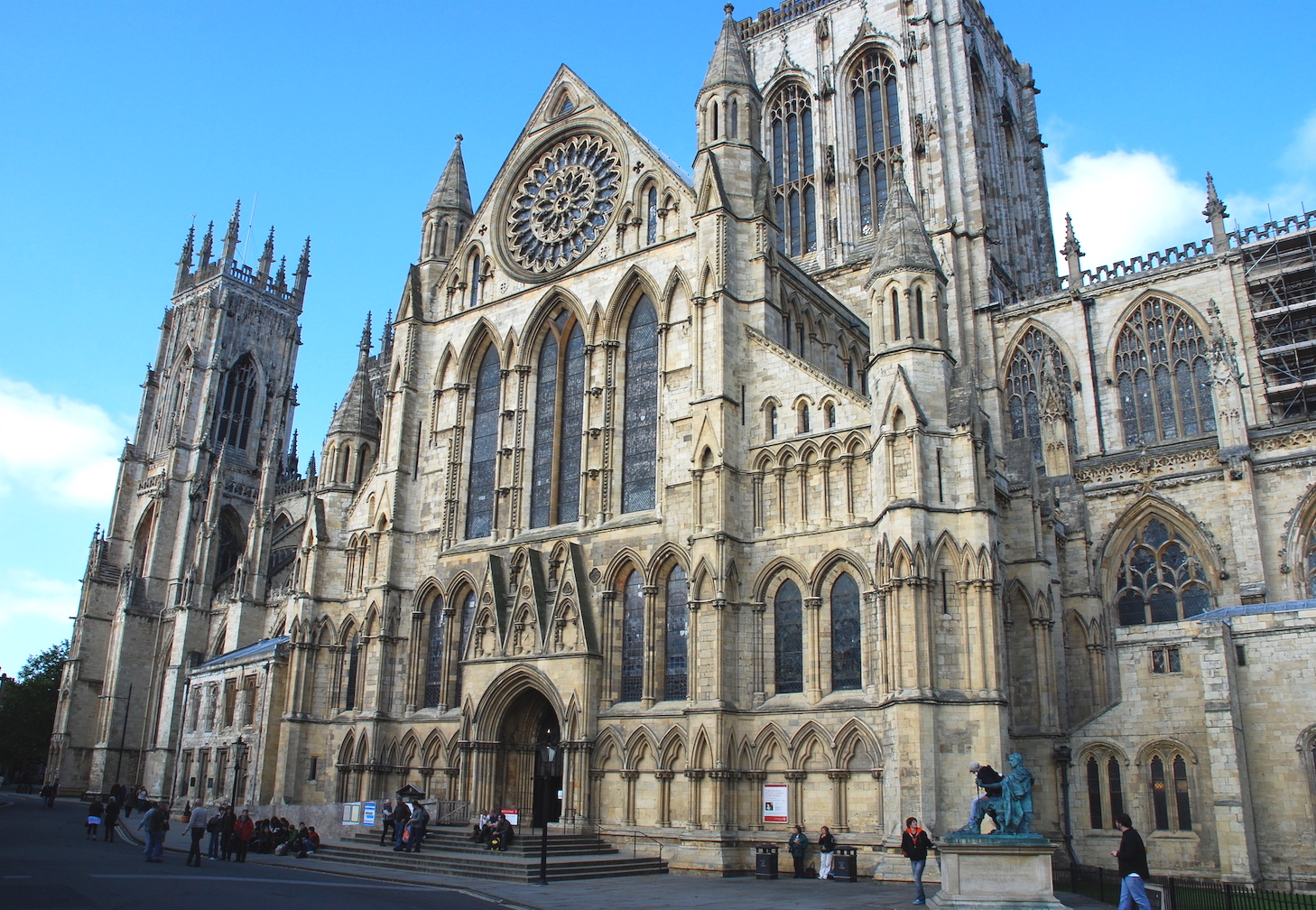 York Minster on Grand Tour of Great Britain.