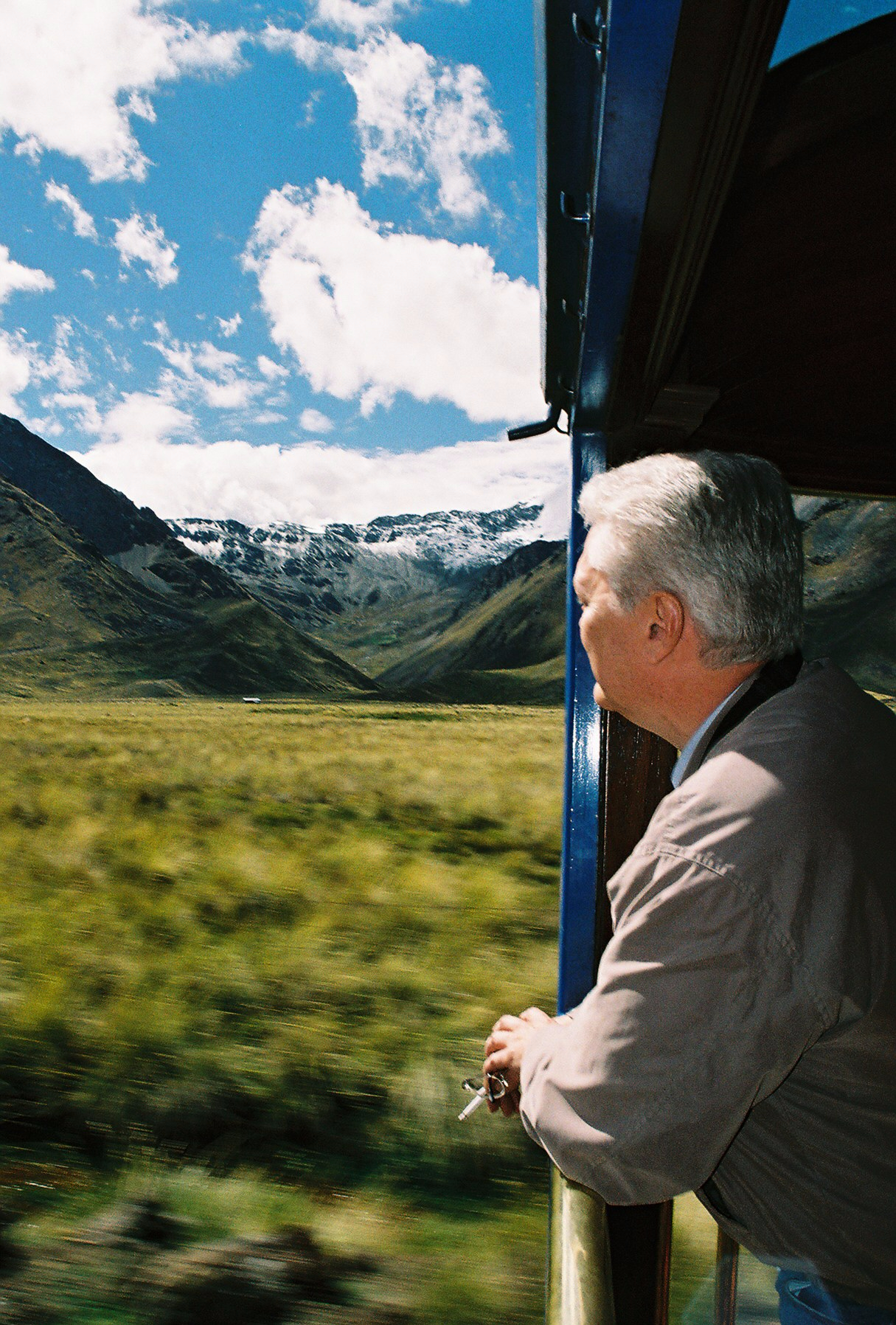 Like its older relative (pictured here), the new Belmond Andean Explorer also boasts an open-air platform. IRT Photo by Eleanor Hardy.