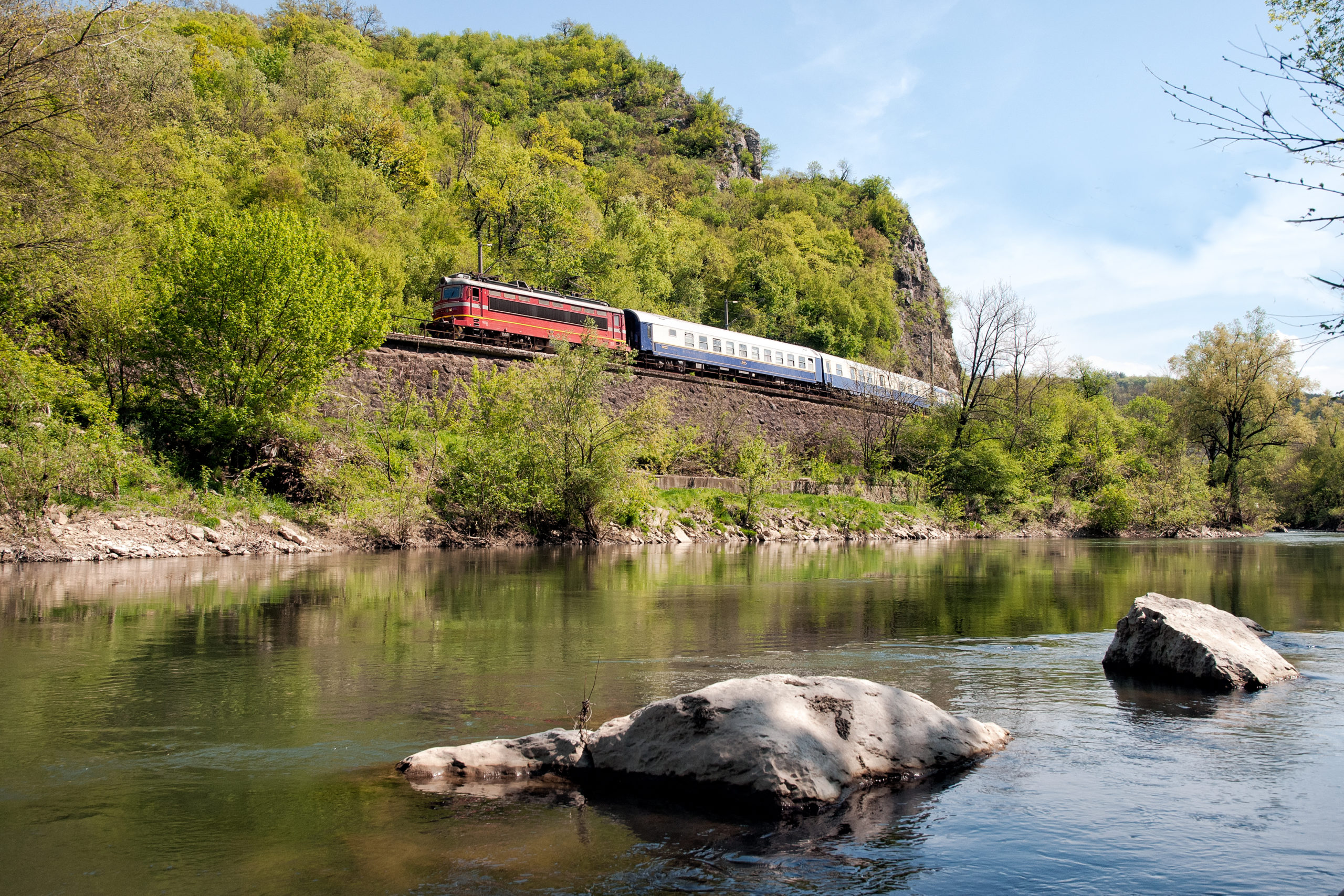 The Golden Eagle Danube Express in Hungary.