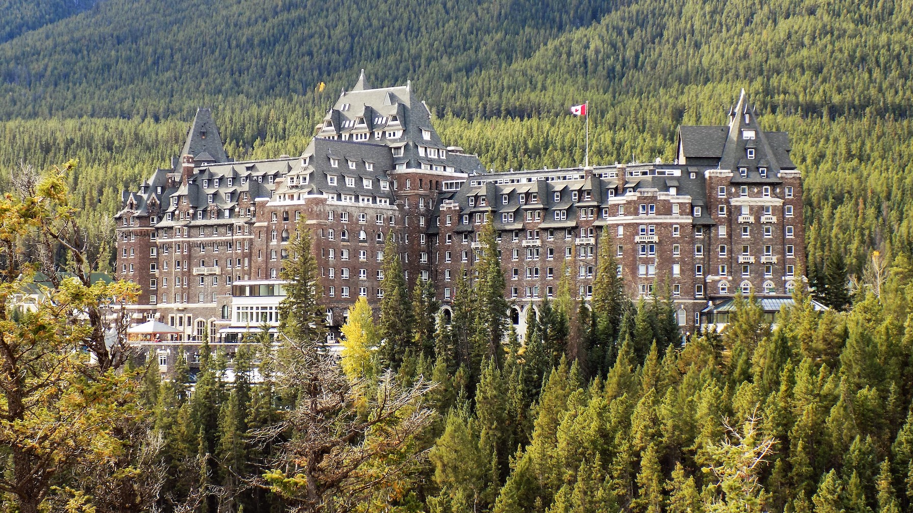 Rocky Mountaineer Fairmont Banff Springs Hotel.
