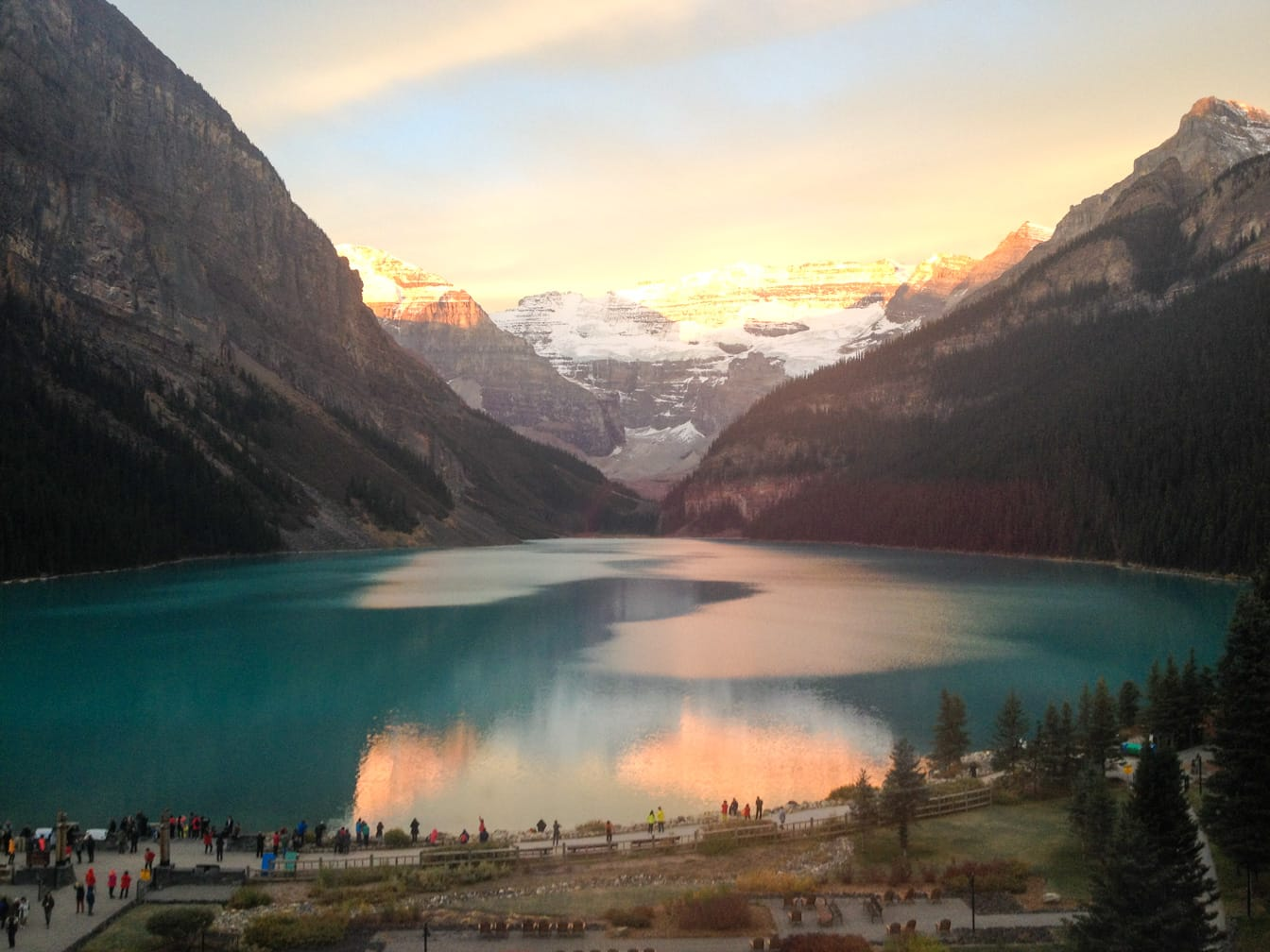 Lake Louise on the Rocky Mountaineer: Ultra-Luxe Canadian Rockies Adventure journey