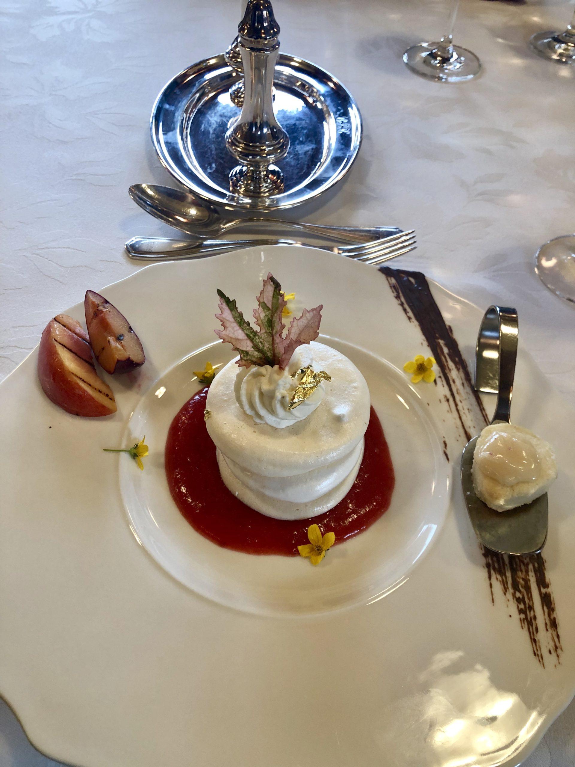 Dessert with maple leaf.JPEG
