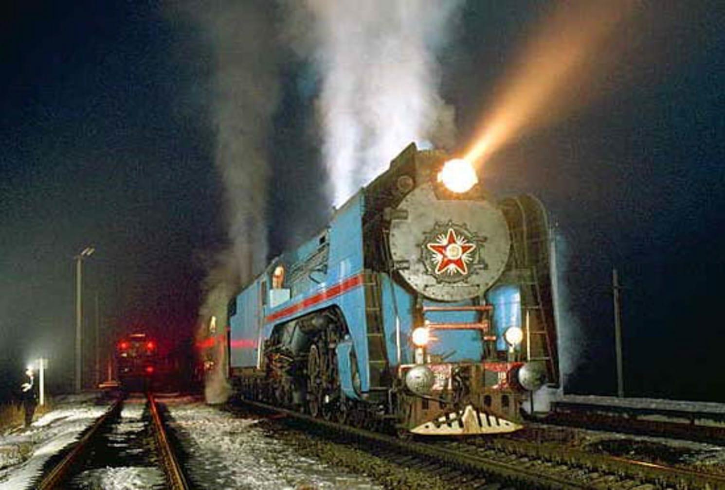 Train on the Trans-Siberian Winter Wonderland by Steam journey