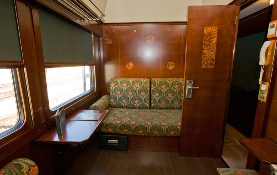 Grand Class room on the Al Andalus train