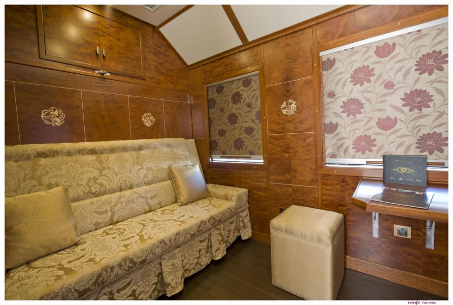 Deluxe Suite on the Al Andalus train