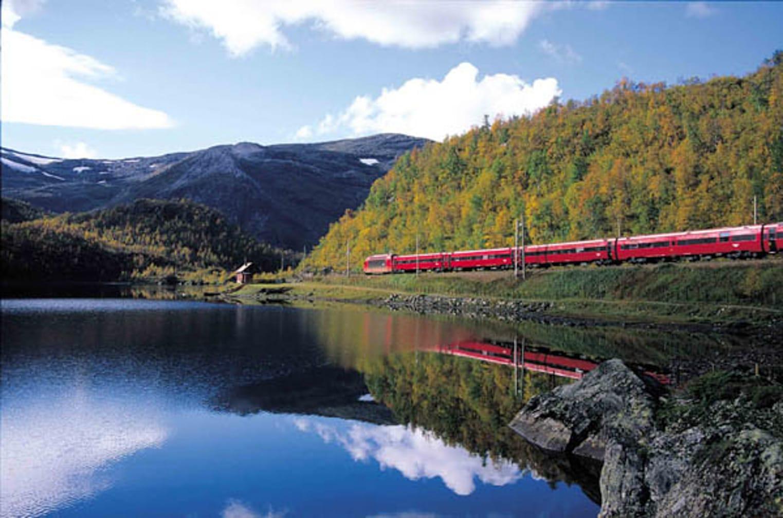 Bergen Railway, Haugastøl. (Photo by Rolf M Sørensen)