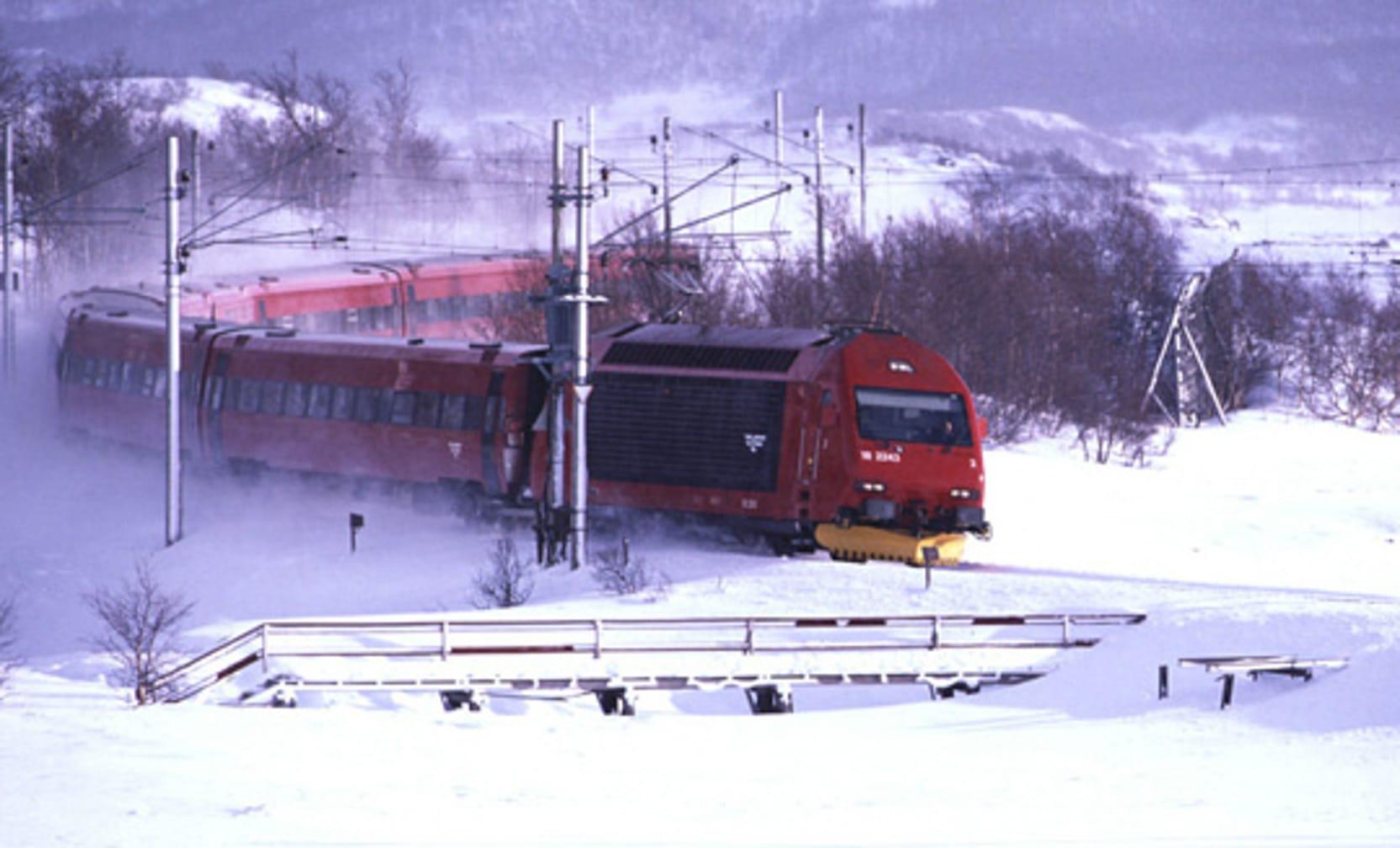 Bergen Railway, Ustaoset. (Photo by Rune Fossum)