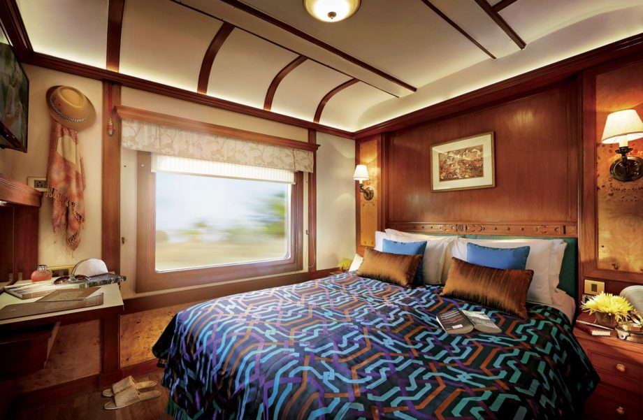 Deluxe Double on the the Deccan Odyssey train