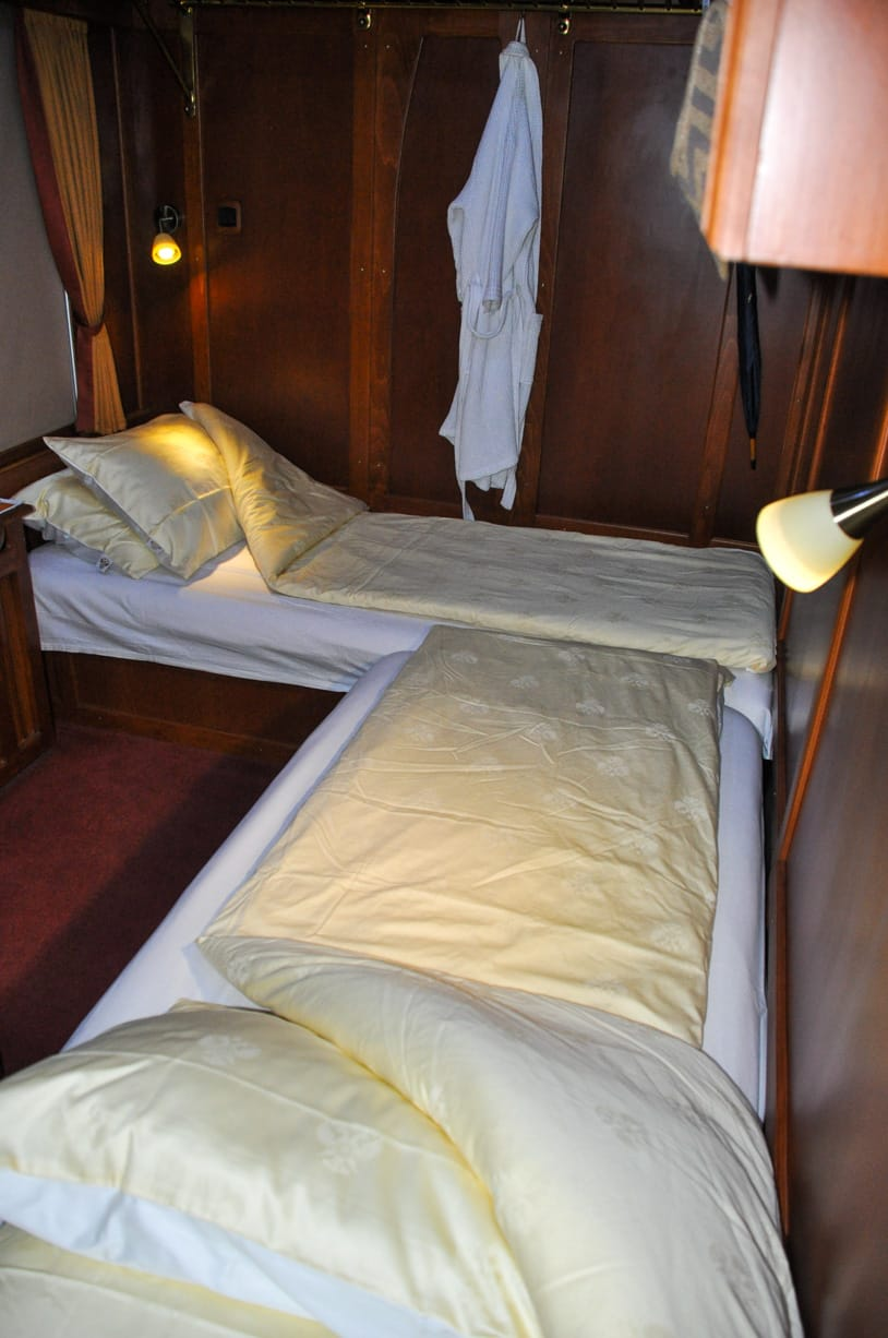 Golden Eagle Danube Express bedroom interior