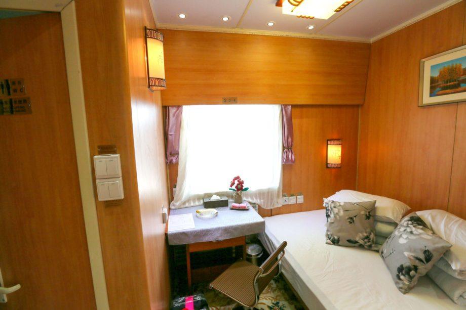 Diamond Class Cabin on the Shangri-La Express train