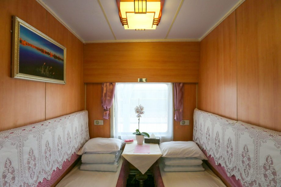 Heritage Cabin on the Shangri-La Express train