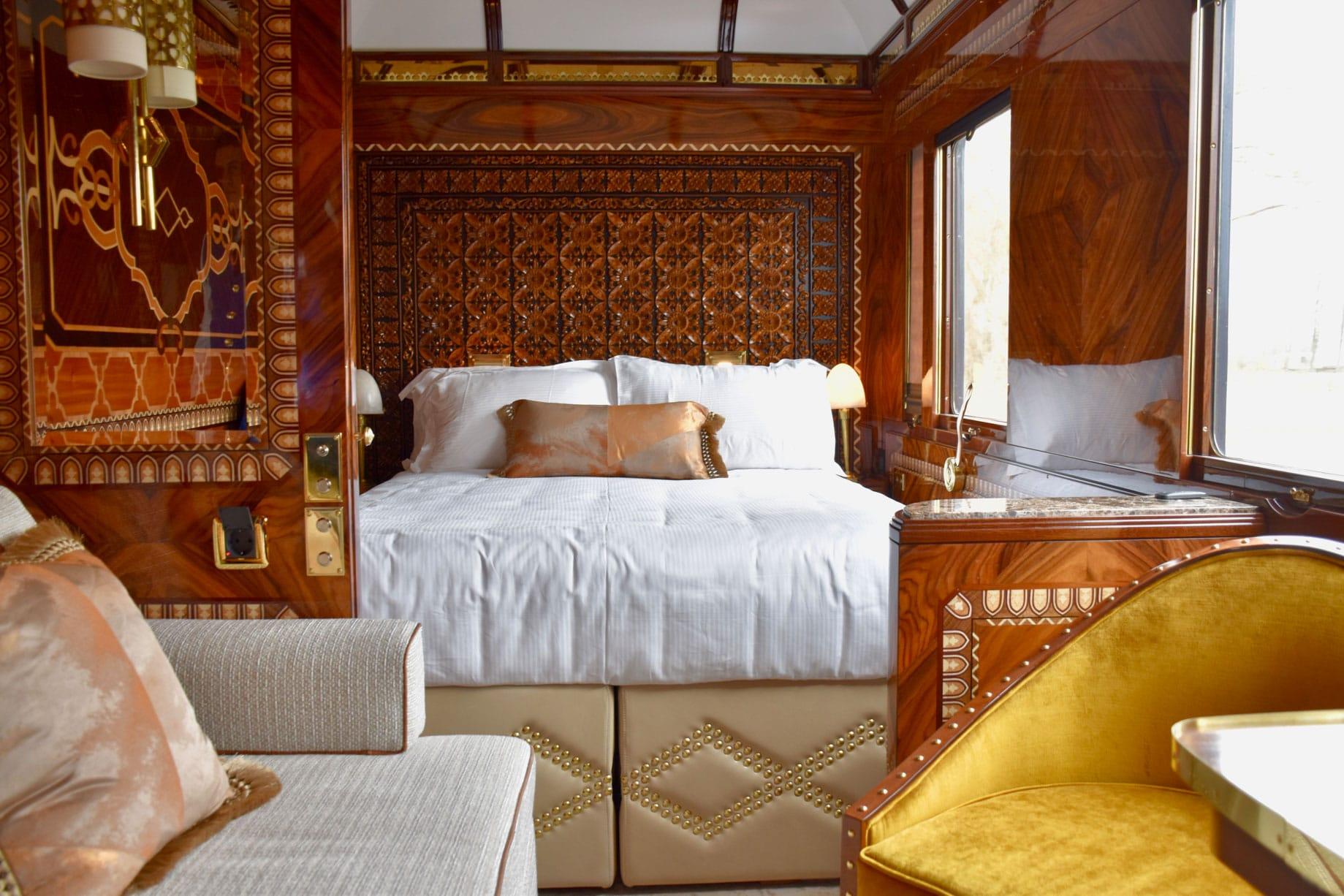 Venice Simplon-Orient-Express (VSOE) bedroom