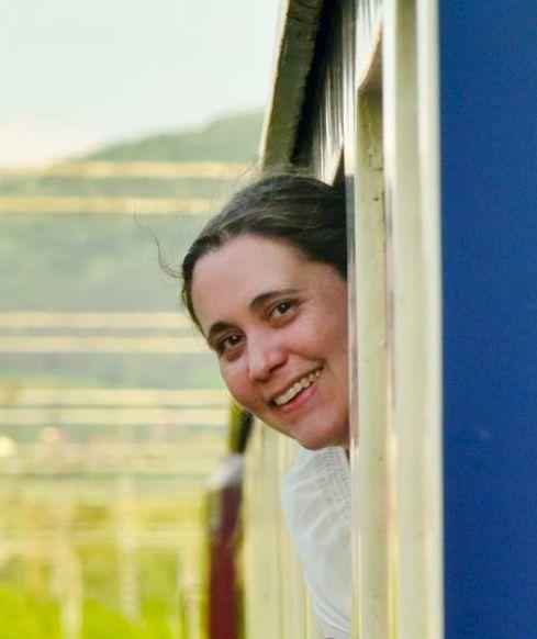 Angela Walker Vice President, The Society of International Railway Travelers. Photo by Arthur McMurdie
