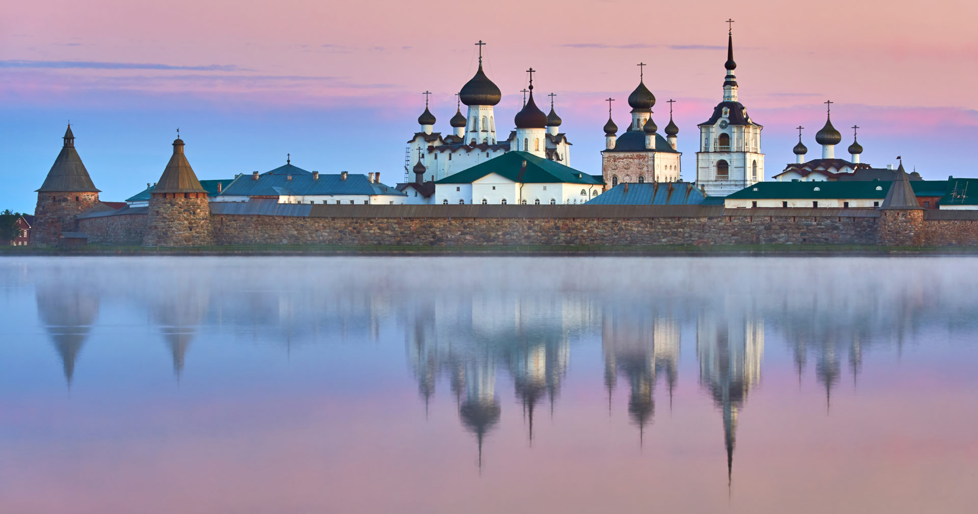 Solovetsky Monastery in Russia.