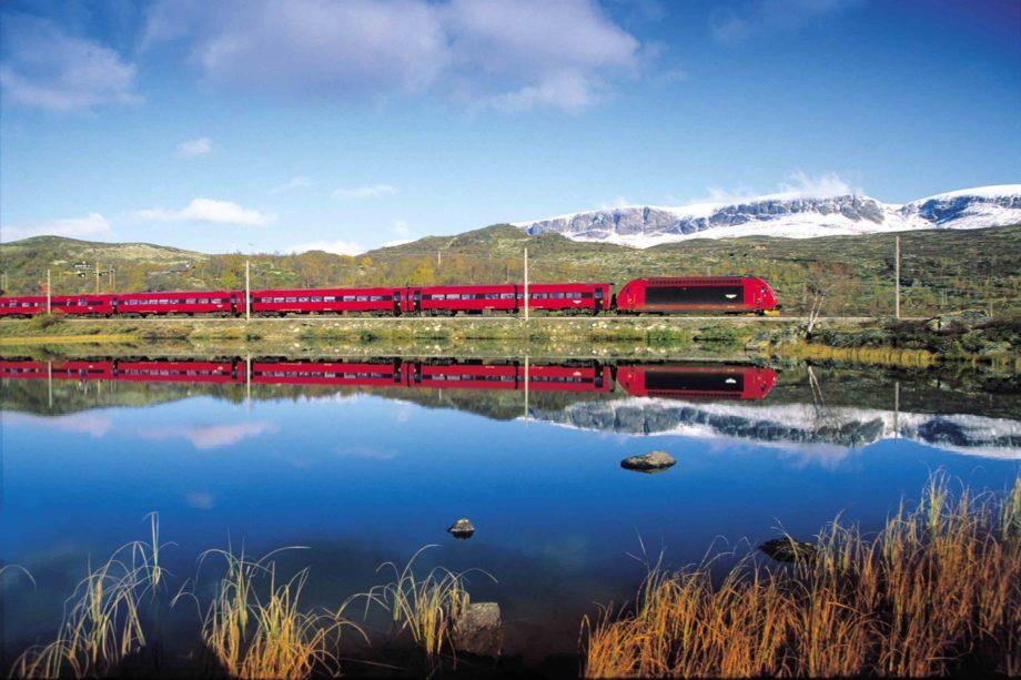 Bergen Railway, Ustaoset. (Photo by Rolf M Sørensen)