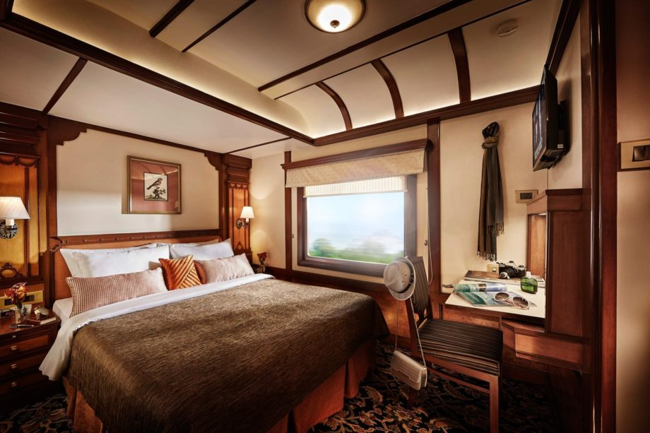 Presidential Suite on the the Deccan Odyssey train