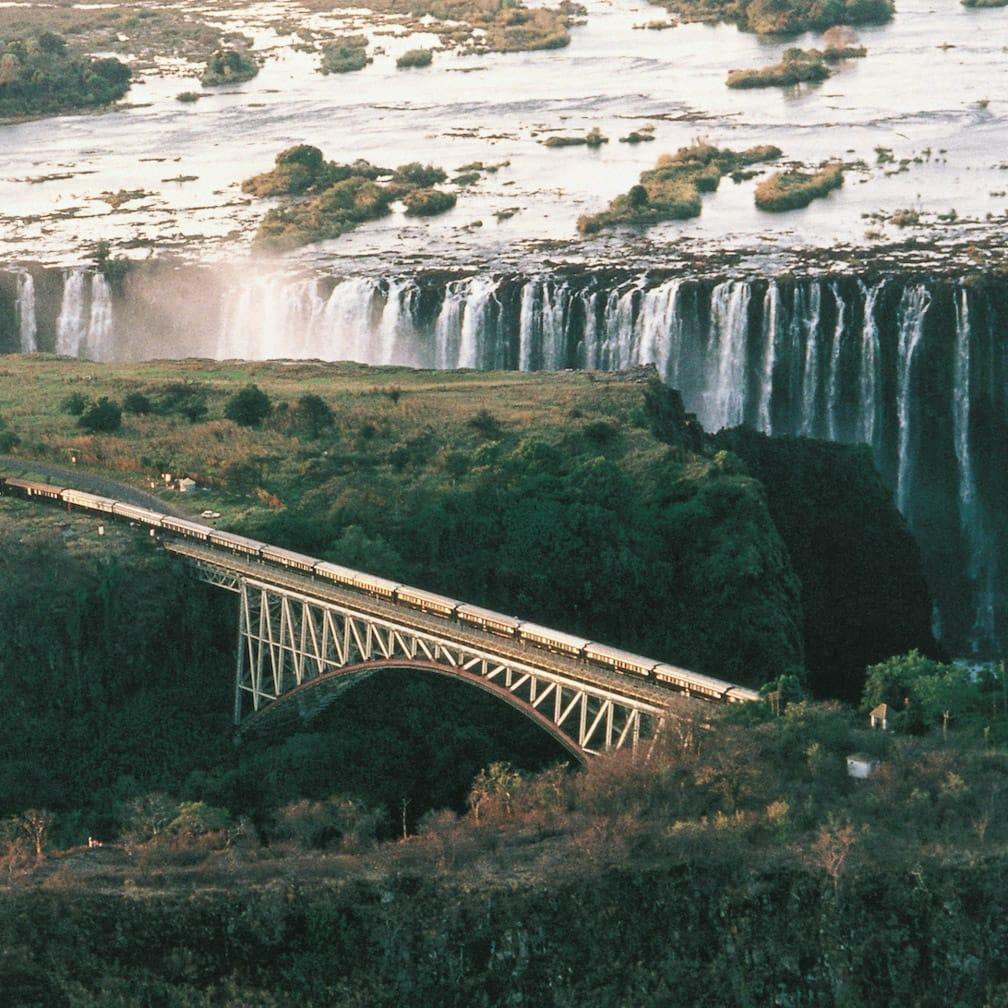 Rovos Rail over Victoria Falls