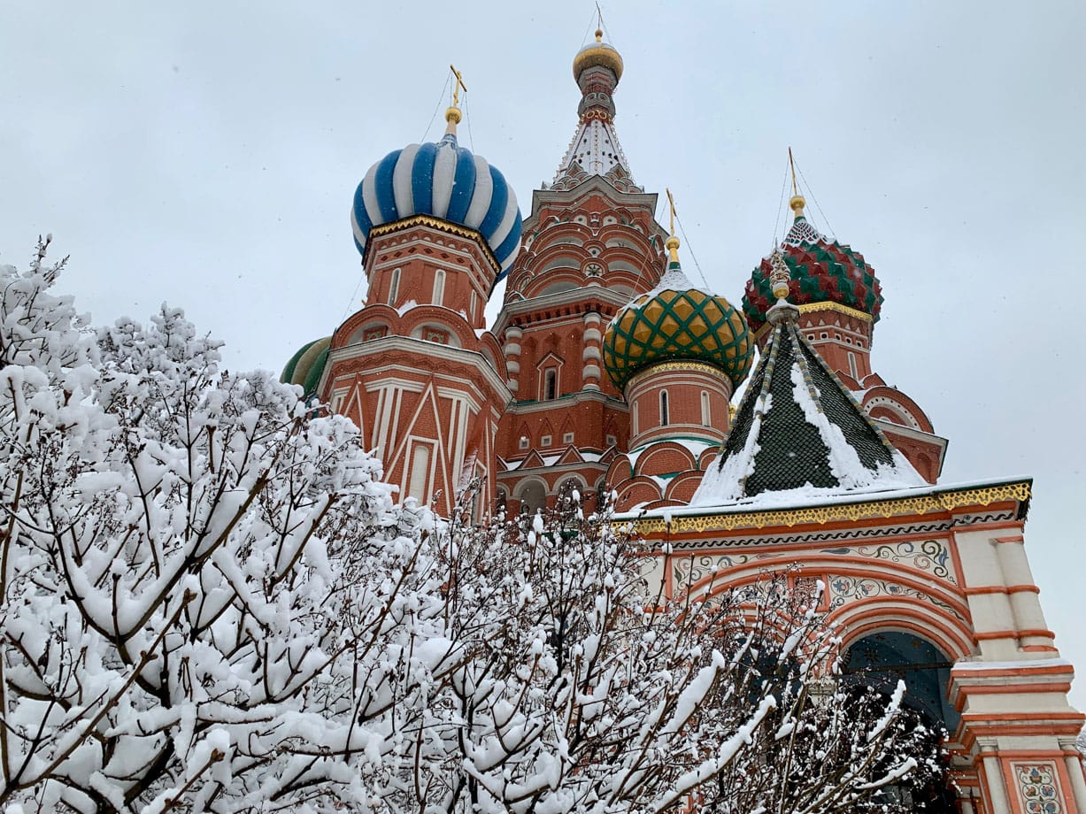 Credit timonthetrain.com - St. Basil's Cathedral - side view