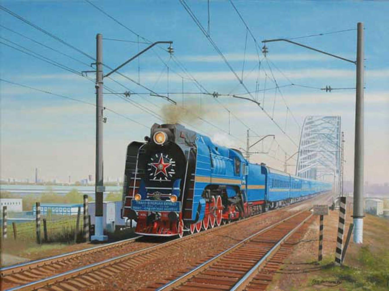Golden Eagle P36 steam engine
