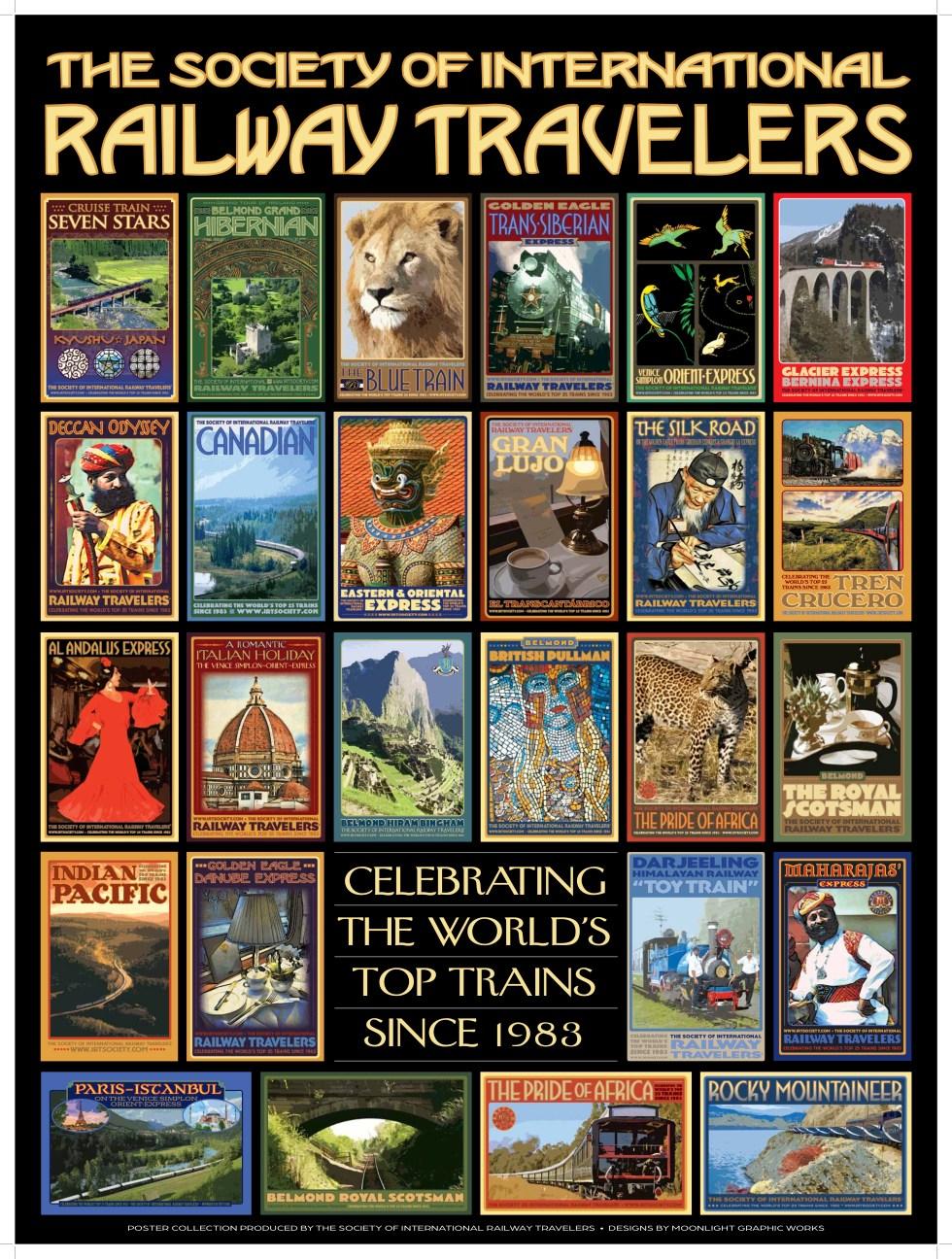 Society of International Railway Travelers Posters