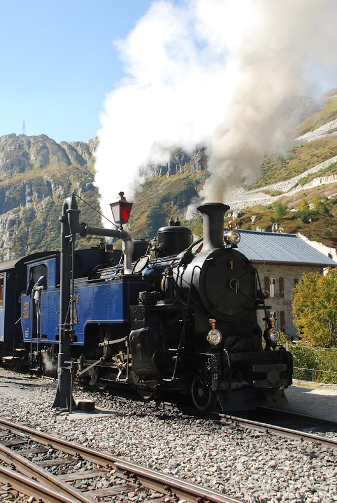 Switzerland Furka Steam 1