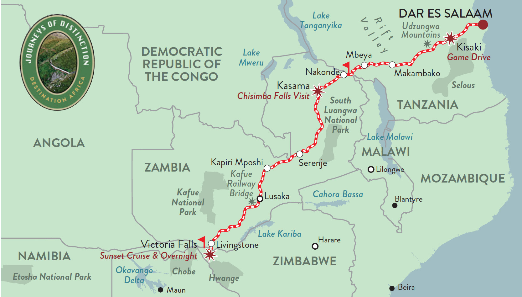 Route_Map_Vic_Falls_Dar_es_Salaam